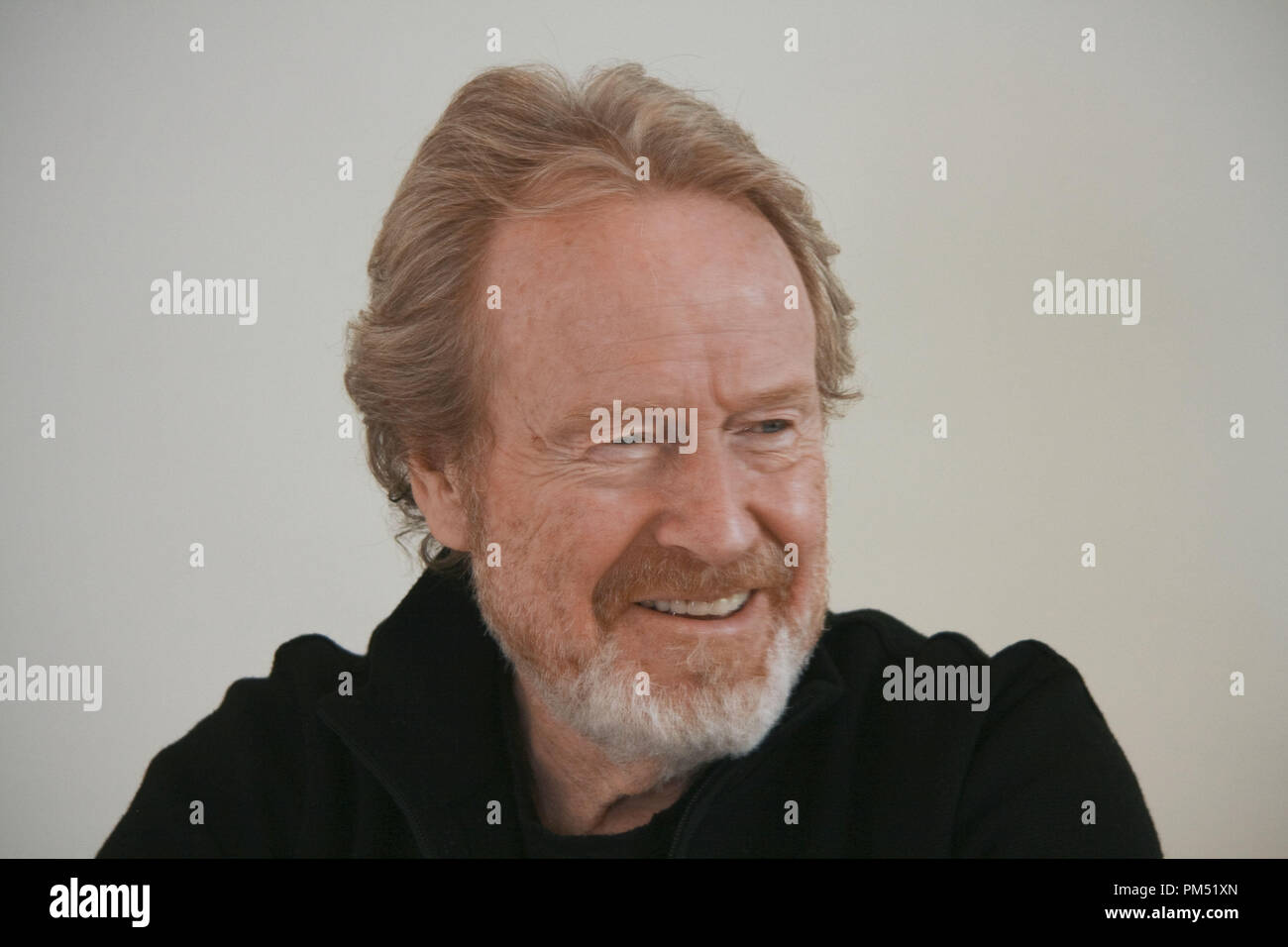 Ridley Scott 'Robin Hood'  Portrait Session, April 23, 2010.  Reproduction by American tabloids is absolutely forbidden. File Reference # 30191_020JRC  For Editorial Use Only -  All Rights Reserved - Stock Image