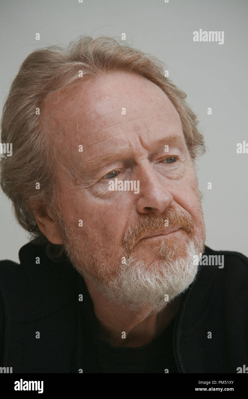 Ridley Scott 'Robin Hood'  Portrait Session, April 23, 2010.  Reproduction by American tabloids is absolutely forbidden. File Reference # 30191_026JRC  For Editorial Use Only -  All Rights Reserved - Stock Image