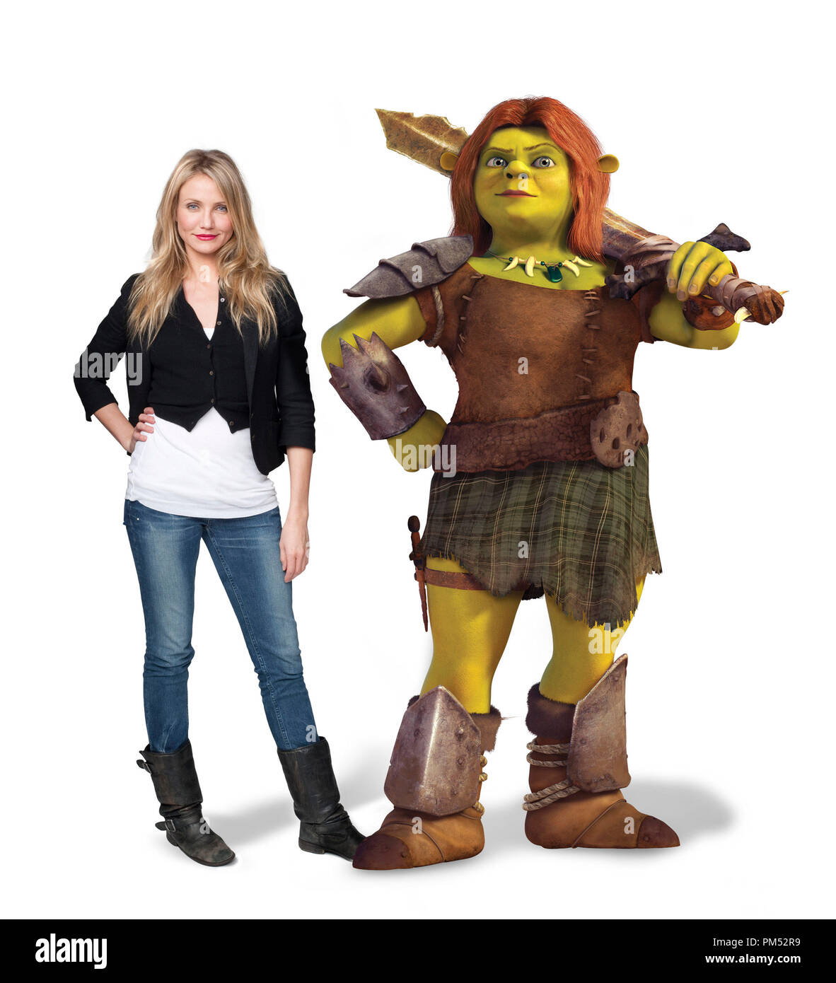 Cameron Diaz Voices Princess Fiona In Shrek Forever After C 2010 Dreamworks Animation Llc All Rights Reserved Stock Photo Alamy