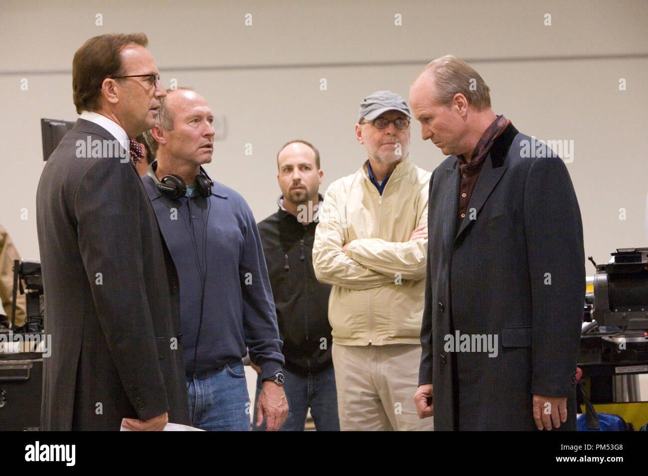 'Mr. Brooks'  Kevin Costner, director Bruce A. Evans, producer Raynold Gideon, William Hurt  © 2007 MGM - Stock Image