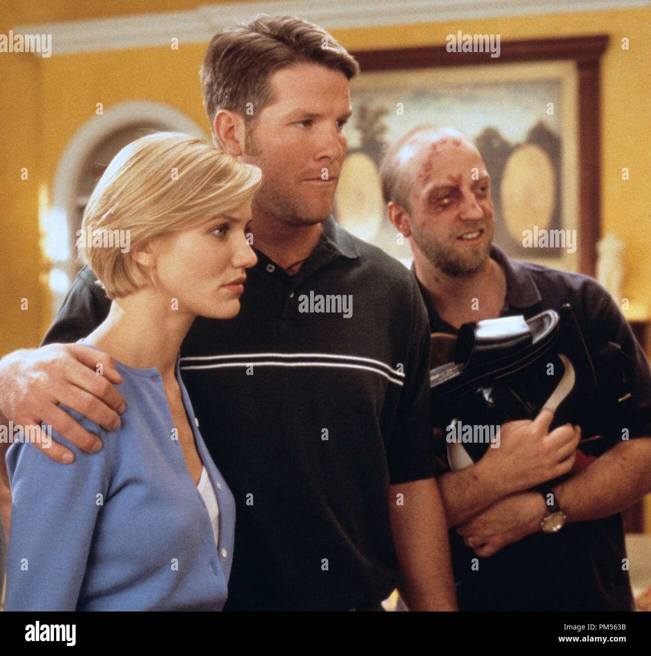 'There's Something About Mary' 1998 Cameron Diaz, Brett Favre, Chris Elliott - Stock Image
