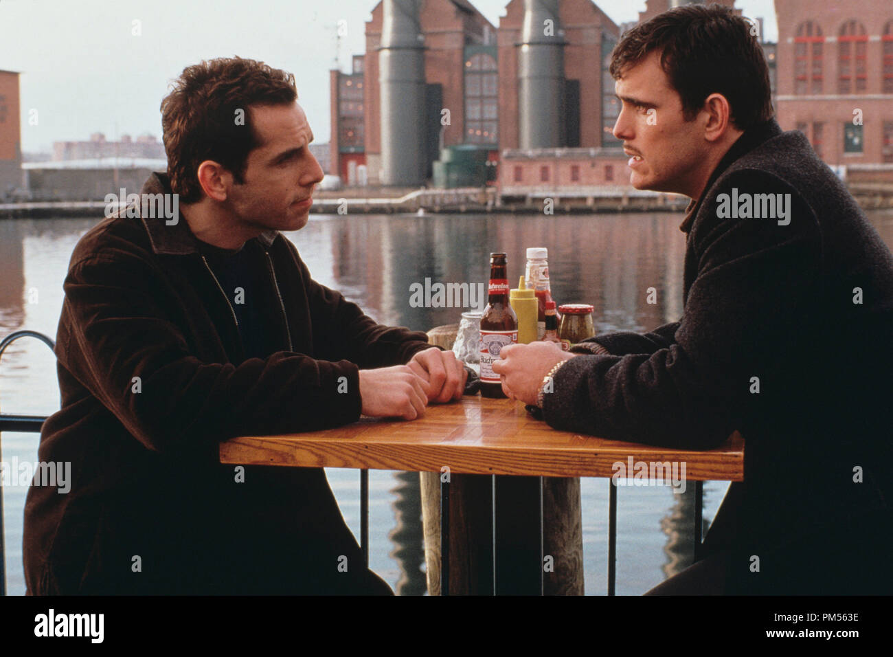 'There's Something About Mary' 1998 Ben Stiller, Matt Dillon - Stock Image