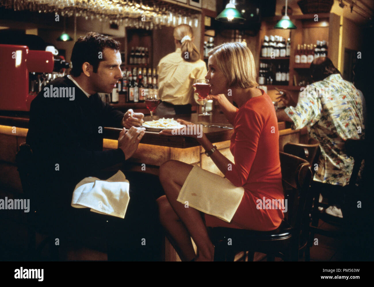 'There's Something About Mary' 1998 Ben Stiller, Cameron Diaz - Stock Image