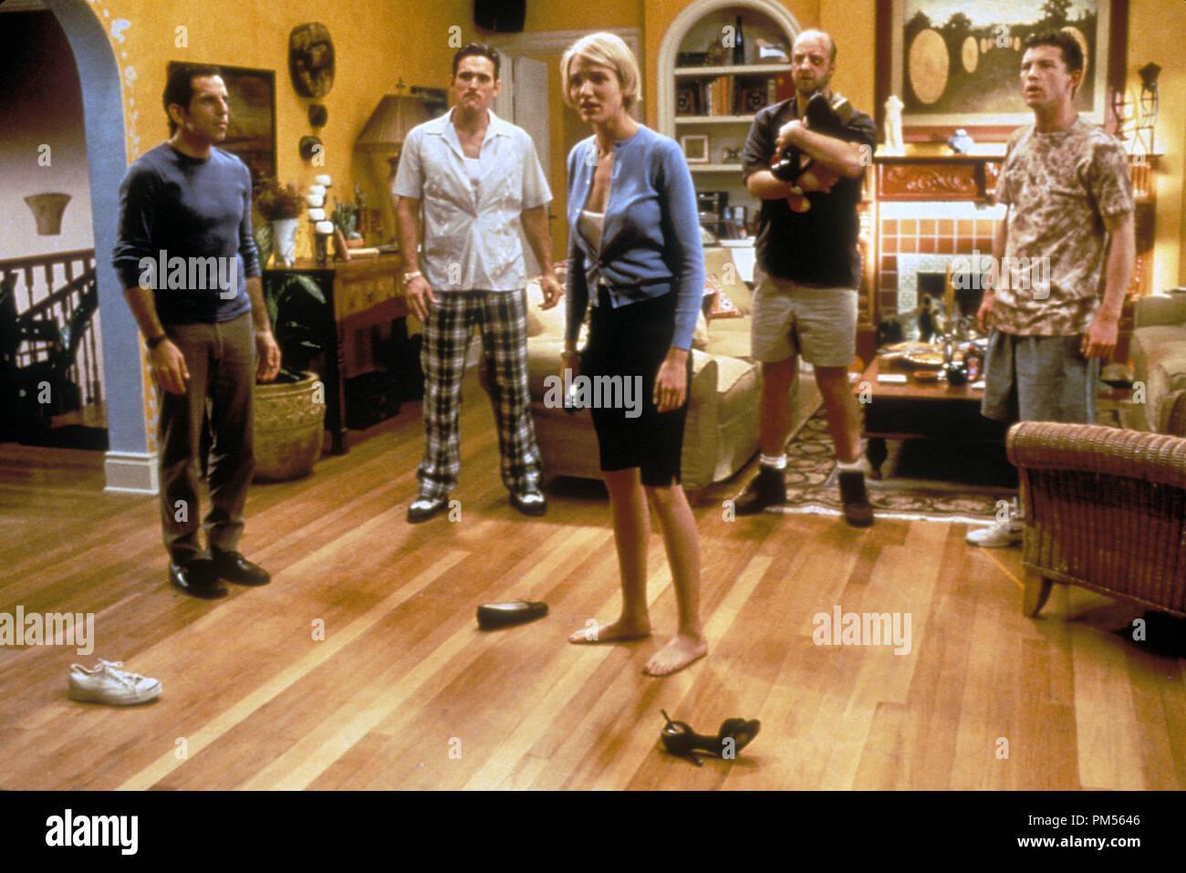 'There's Something About Mary' 1998 Ben Stiller, Matt Dillon, Cameron Diaz, Chris Elliot, Lee Evans - Stock Image