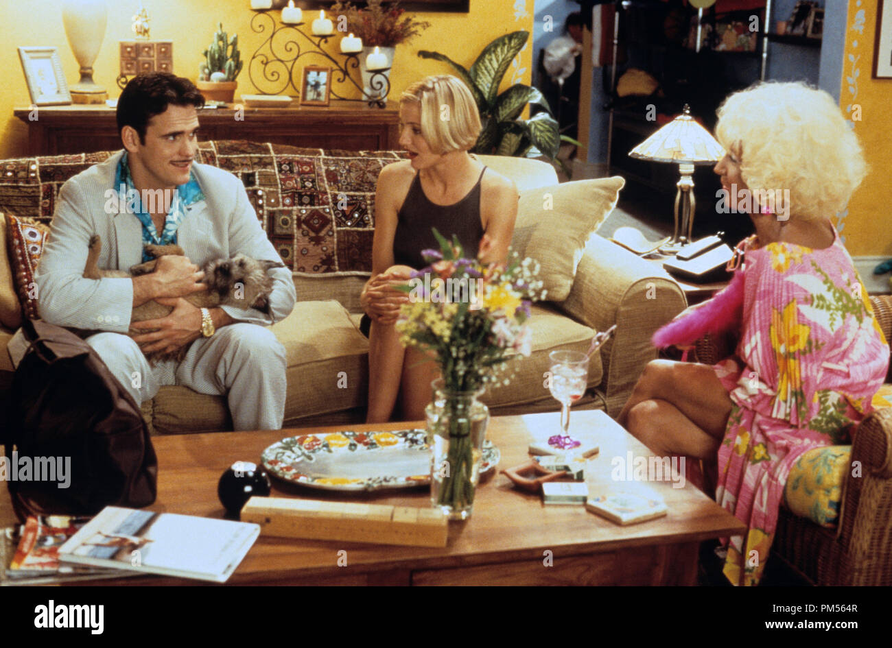 'There's Something About Mary' 1998 Matt Dillon, Cameron Diaz, Lin Shaye - Stock Image