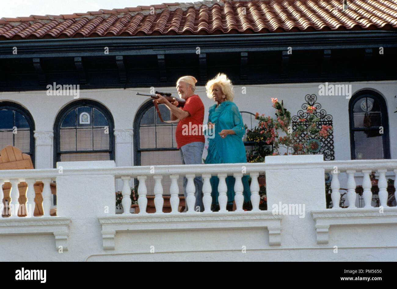 'There's Something About Mary' 1998 Lin Shaye - Stock Image