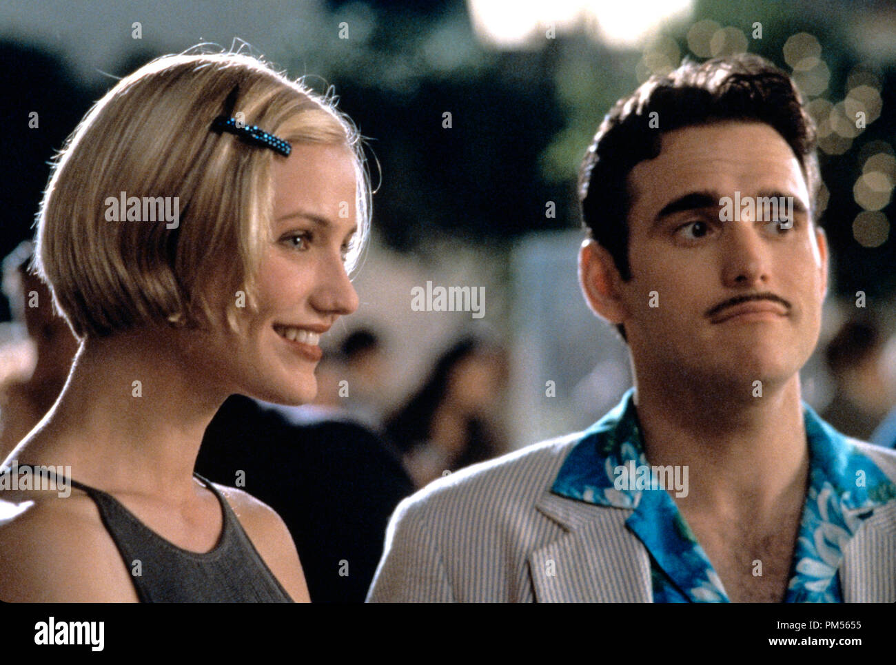 'There's Something About Mary' 1998 Cameron Diaz, Matt Dillon - Stock Image