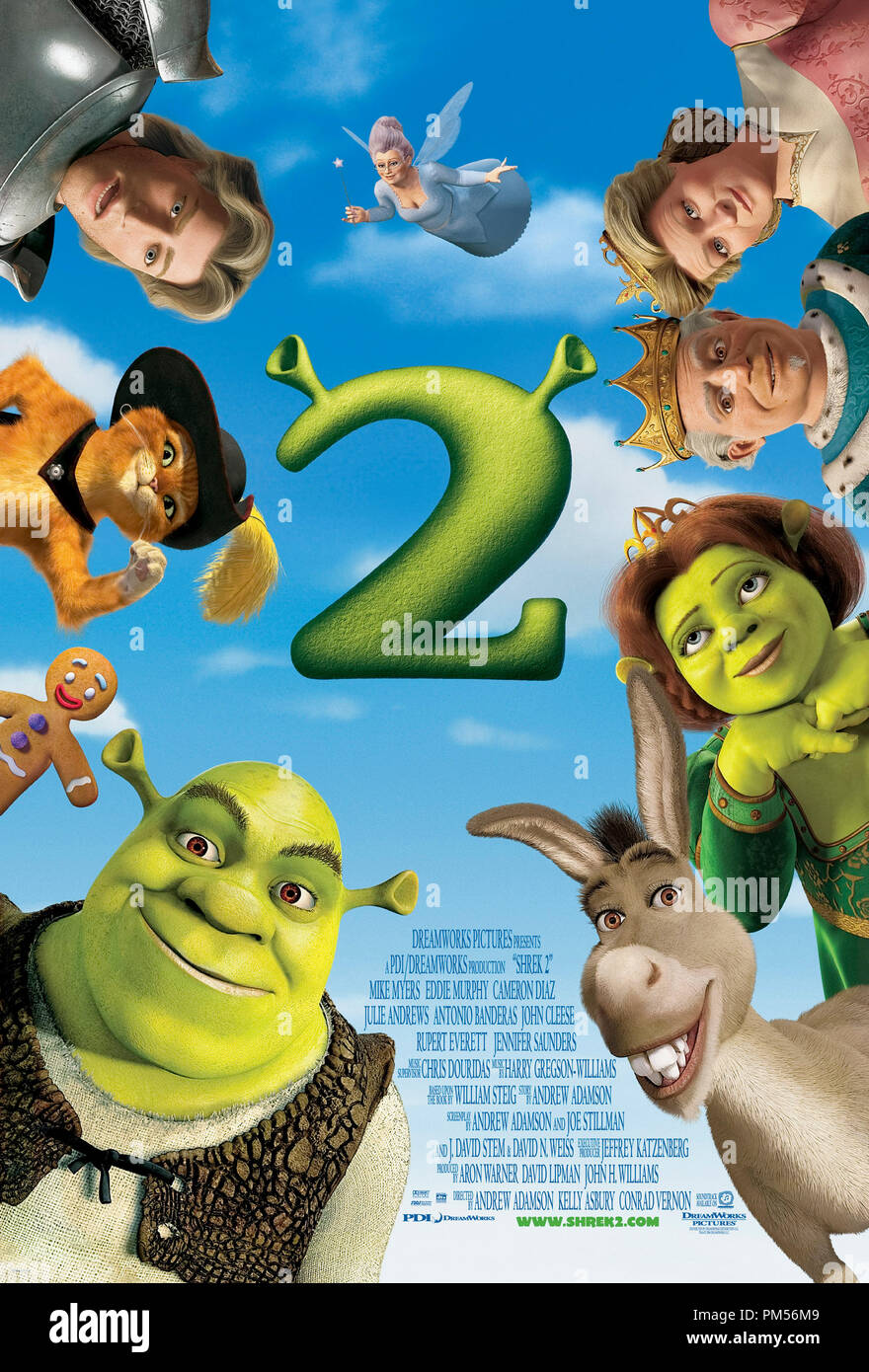 Poster Art from 'Shrek 2' Poster © 2004 Dream Works File Reference # 307351252THA  For Editorial Use Only -  All Rights Reserved - Stock Image