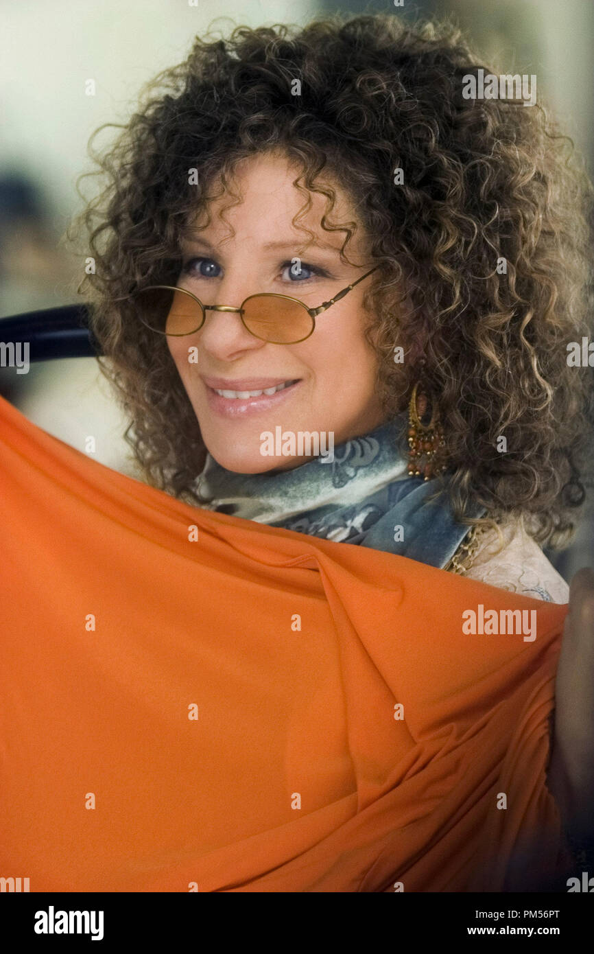 Film Still from 'Meet the Fockers' Barbra Streisand © 2004 Universal Pictures Photo Credit: Tracy Bennett File Reference # 307351311THA  For Editorial Use Only -  All Rights Reserved - Stock Image