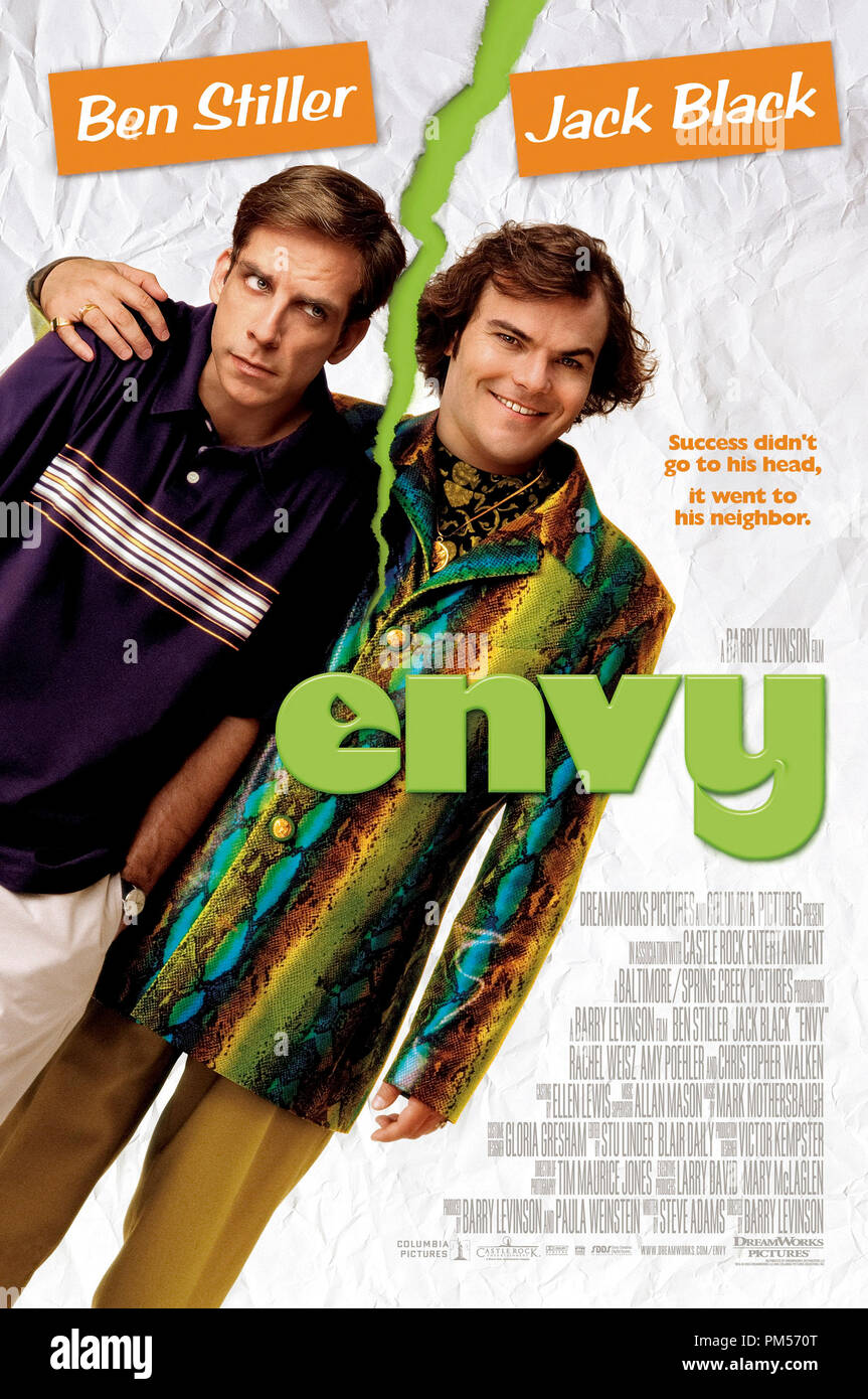 Poster Art from 'Envy' Ben Stiller, Jack Black Poster © 2004 DreamWorks Photo Credit: Brian Hamill File Reference # 307351431THA  For Editorial Use Only -  All Rights Reserved - Stock Image