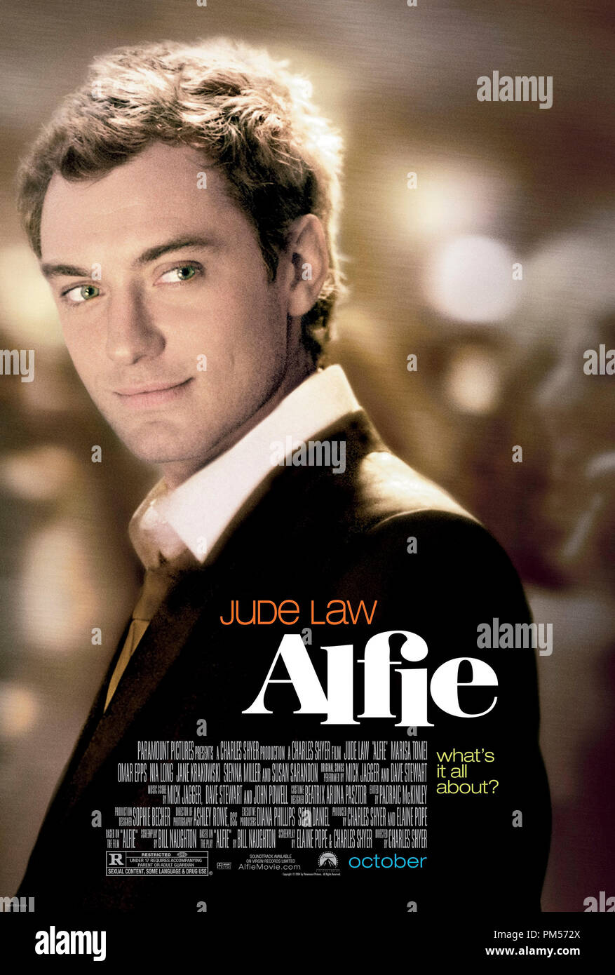 Poster Art from 'Alfie' Poster © 2004 Paramount Pictures File Reference # 307351477THA  For Editorial Use Only -  All Rights Reserved - Stock Image