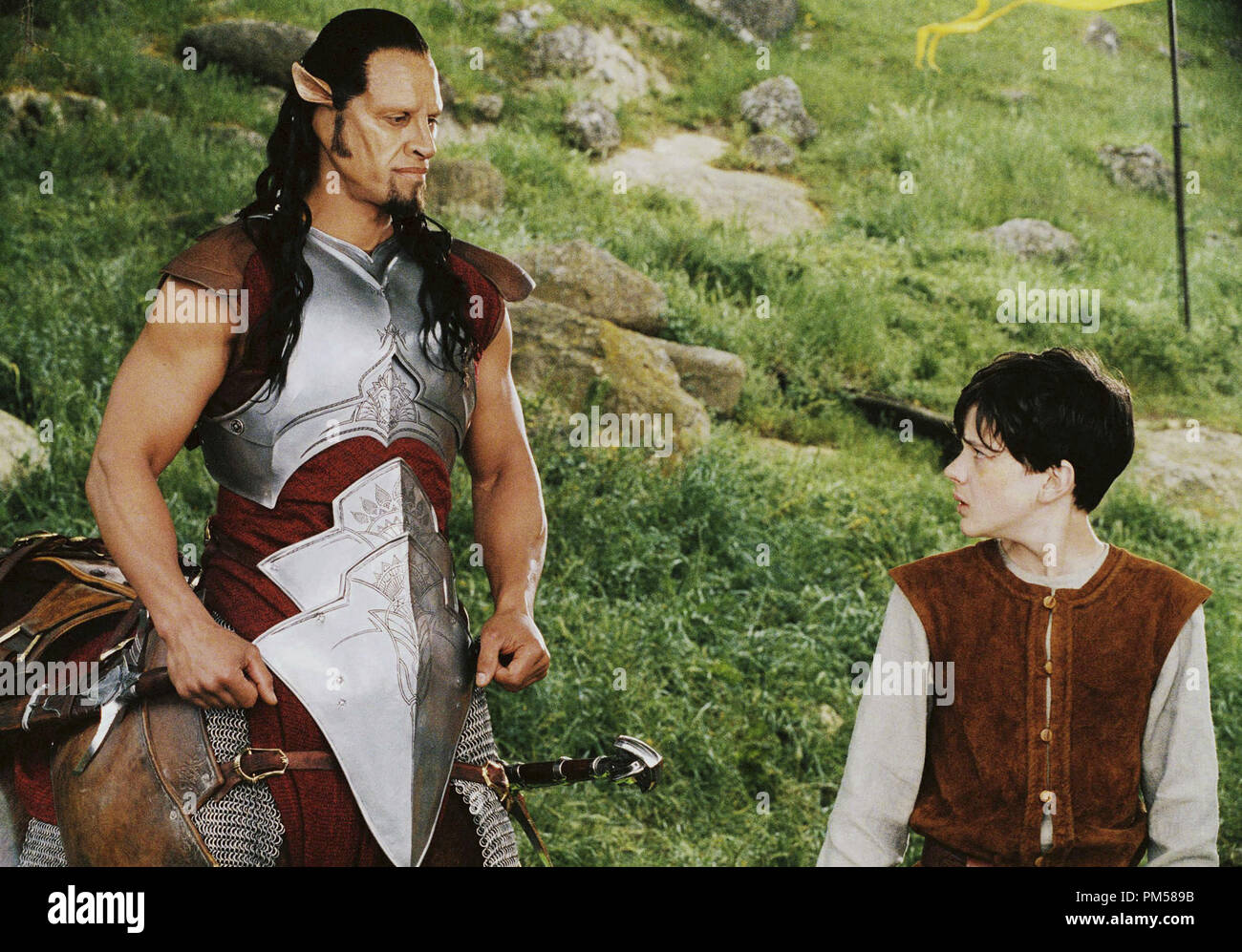 Studio Publicity Still from 'The Chronicles of Narnia: The Lion, the Witch and the Wardrobe'  Patrick Kake, Skandar Keynes © 2005 Walt Disney Pictures Photo by Phil Bray      File Reference # 307361582THA  For Editorial Use Only -  All Rights Reserved - Stock Image