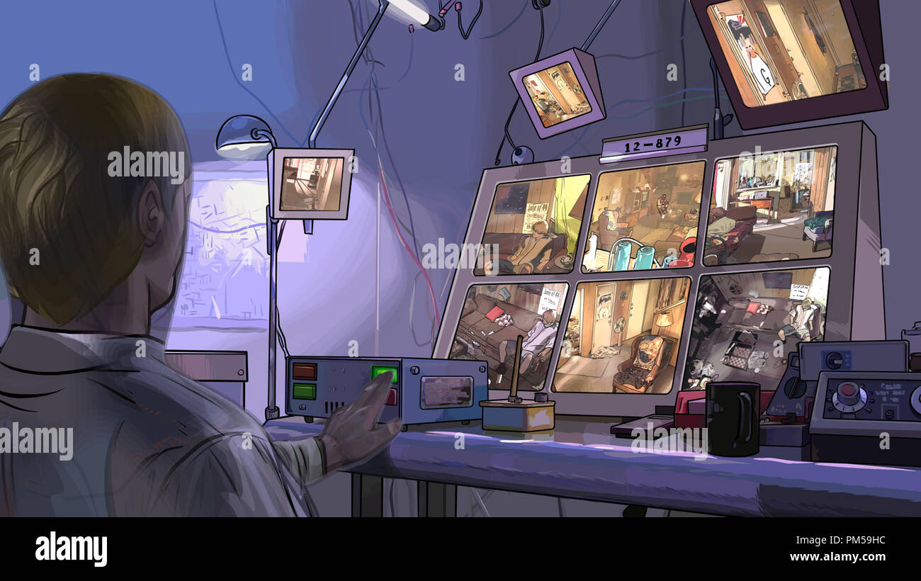 Studio Publicity Still from 'A Scanner Darkly' © 2006 Warner   File Reference # 307371257THA  For Editorial Use Only -  All Rights Reserved - Stock Image