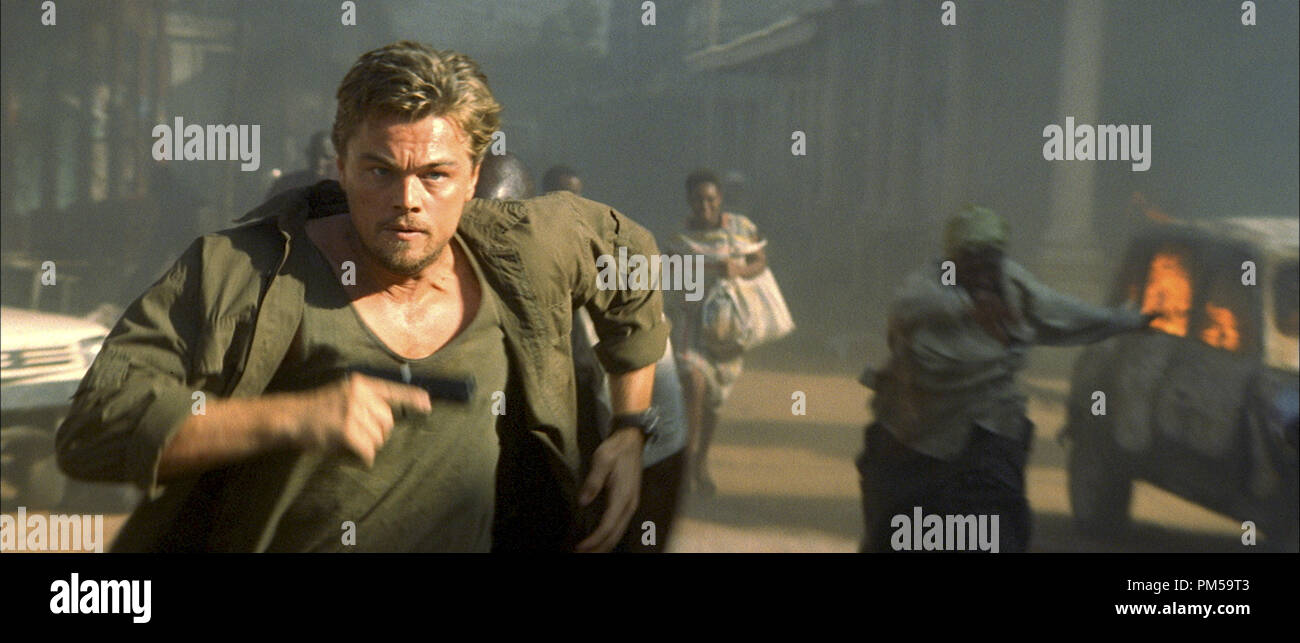 Studio Publicity Still from 'Blood Diamond' Leonardo DiCaprio © 2006 Warner   File Reference # 307371391THA  For Editorial Use Only -  All Rights Reserved - Stock Image