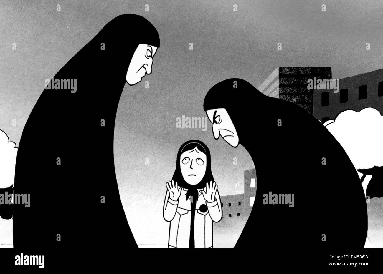 Film Still from 'Persepolis' Marjane © 2007 Sony Pictures Classics   File Reference # 30738476THA  For Editorial Use Only -  All Rights Reserved - Stock Image
