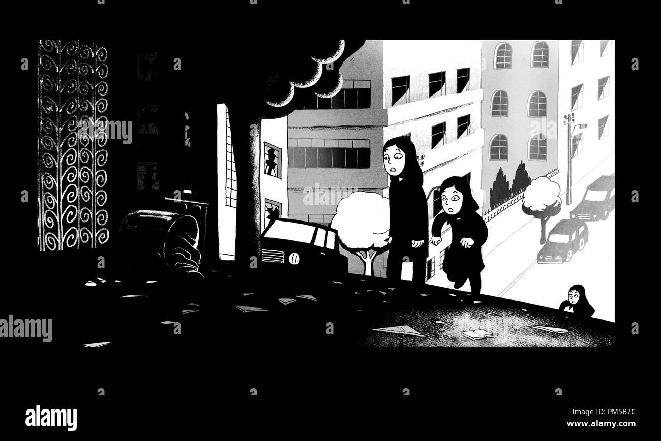 Film Still from 'Persepolis' Marjane © 2007 Sony Pictures Classics   File Reference # 30738484THA  For Editorial Use Only -  All Rights Reserved - Stock Image