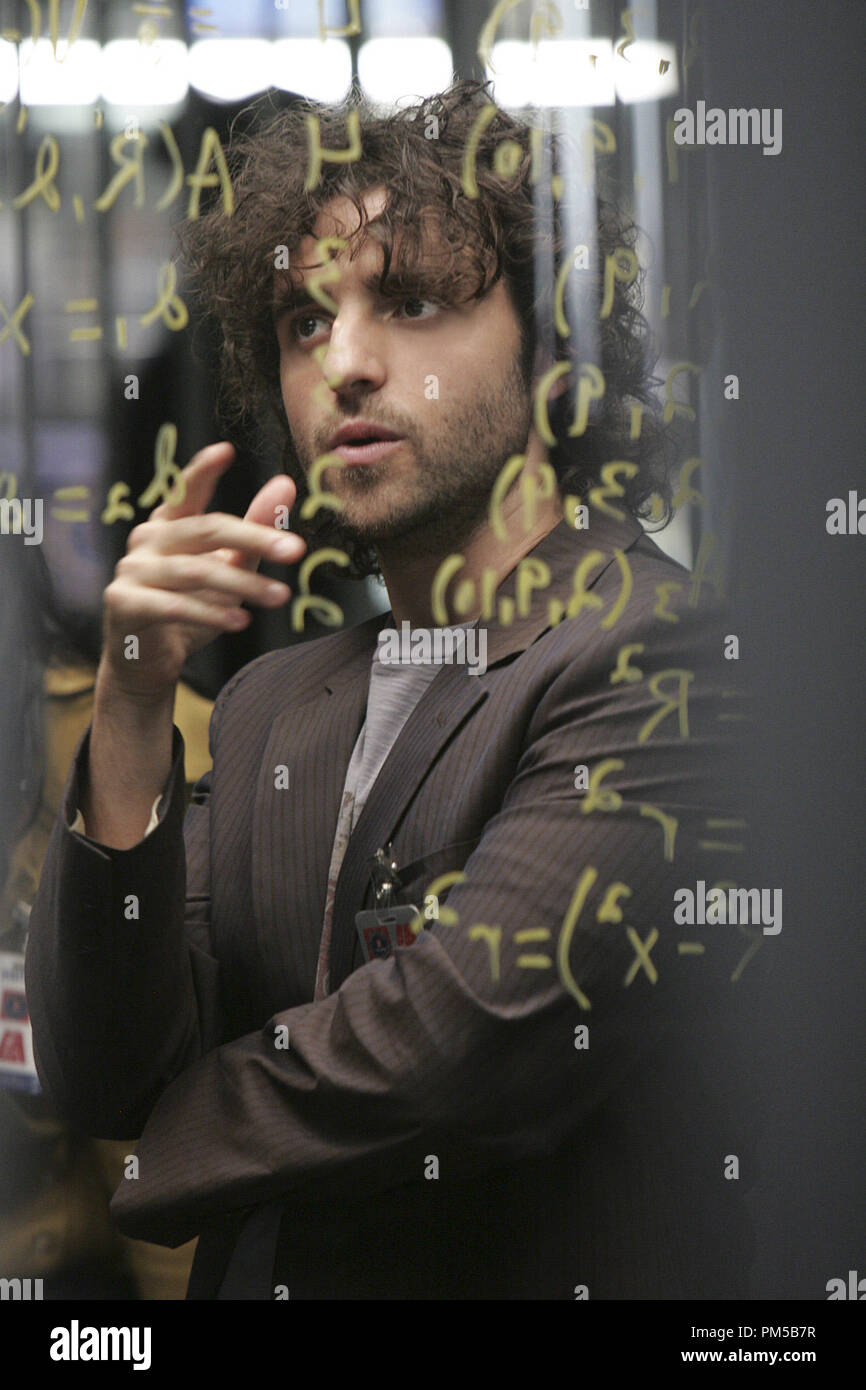 "Film Still from ""Numb3rs"" (Episode: Trust Metric) David Krumholtz 2007 Photo Credit: Robert Voets       File Reference # 30738492THA  For Editorial Use Only -  All Rights Reserved Stock Photo"