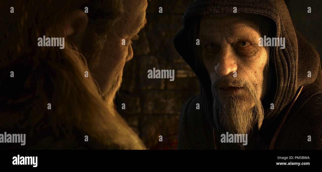 Studio Publicity Still from 'Beowulf' Wiglaf, Unferth  © 2007 Warner    File Reference # 30738783THA  For Editorial Use Only -  All Rights Reserved - Stock Image