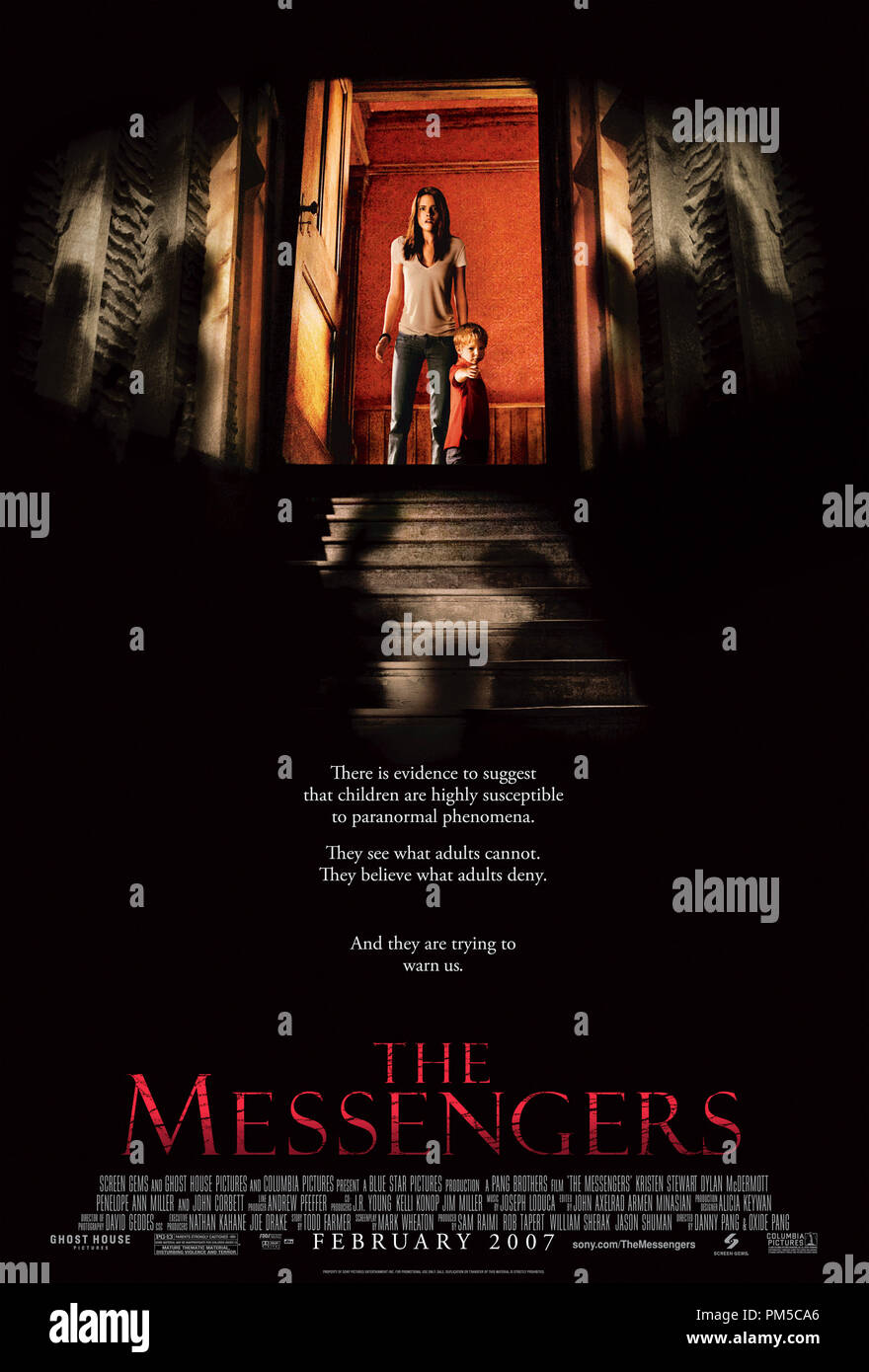 'The Messengers' Poster © 2007 Screen Gems - Stock Image