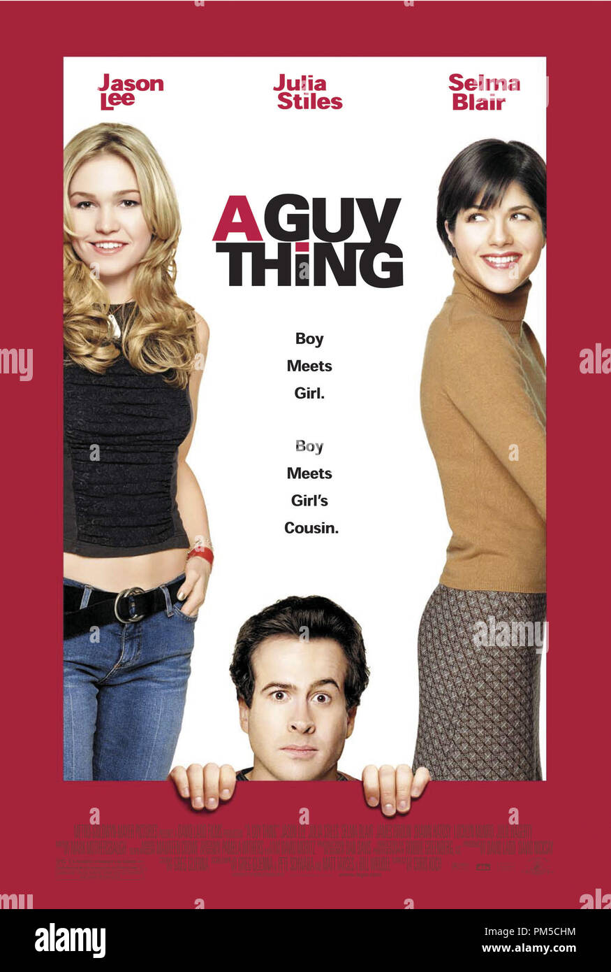 'A Guy Thing'  © 2003 MGM Poster File Reference # 30753082THA  For Editorial Use Only -  All Rights Reserved - Stock Image