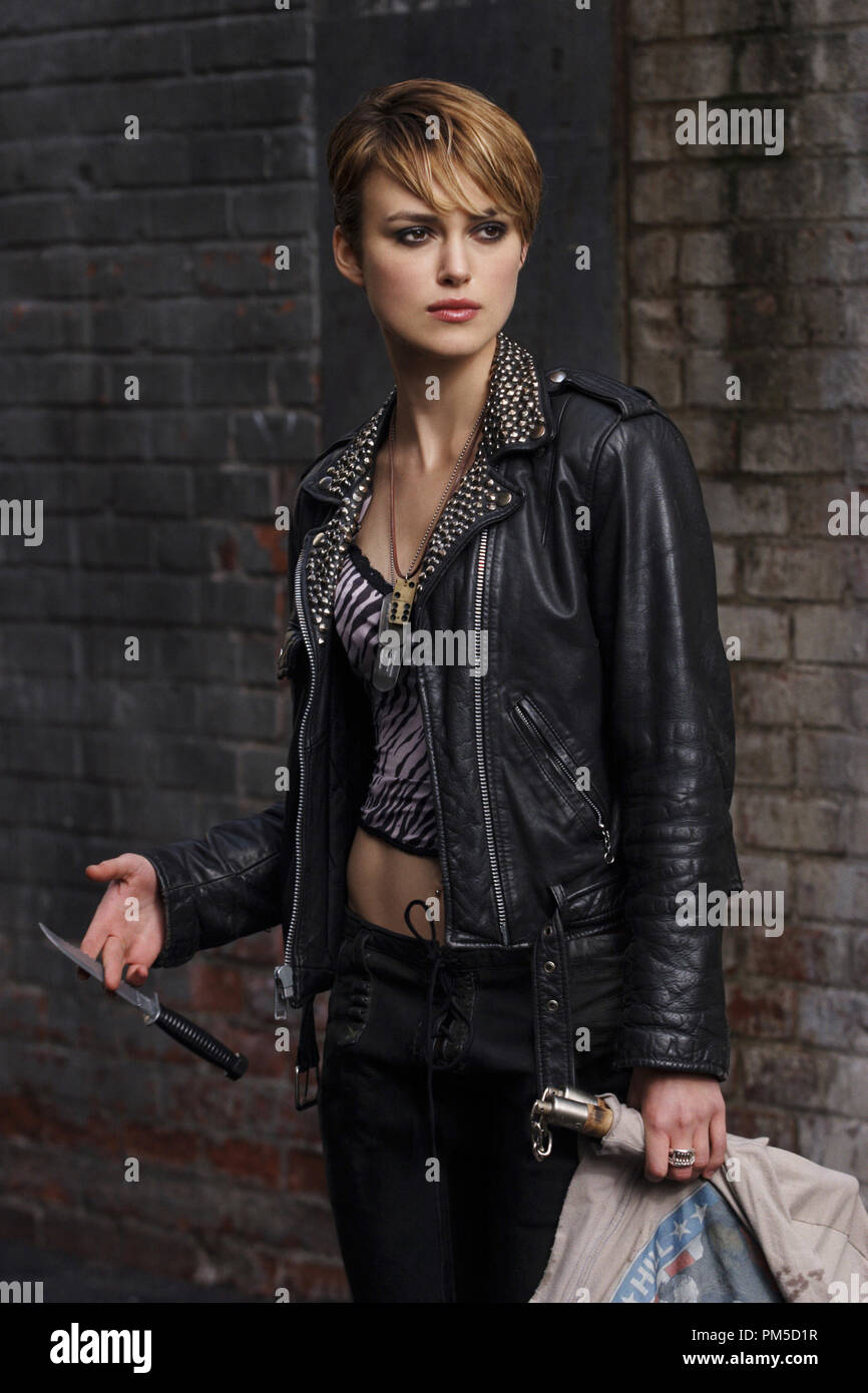 Film Still / Publicity Still from 'Domino' Keira Knightley © 2005 New Line Cinema Photo Credit: Frank Masi   File Reference # 307361359THA  For Editorial Use Only -  All Rights Reserved - Stock Image