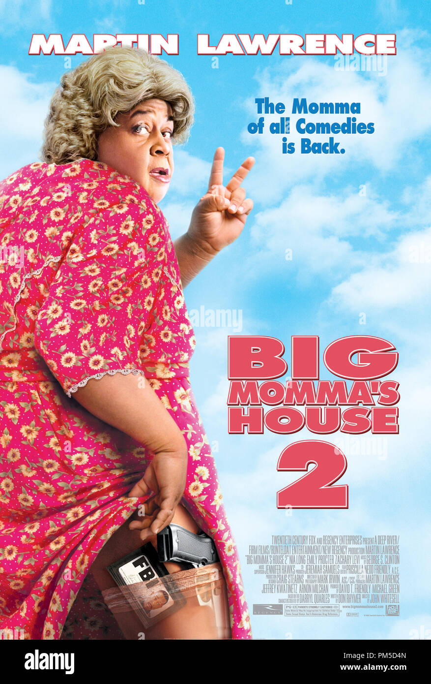 Poster Art from 'Big Momma's House 2' Poster © 2006 20th Century Fox   File Reference # 307361425THA  For Editorial Use Only -  All Rights Reserved - Stock Image