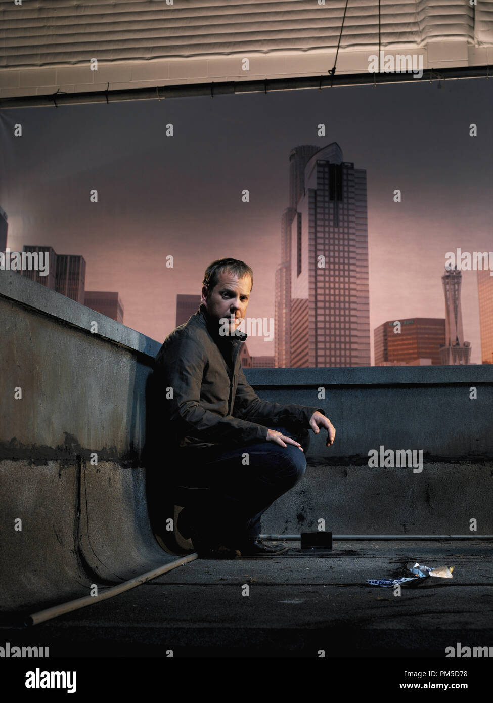Studio Publicity Still from '24' Kiefer Sutherland 2005   File Reference # 307362364THA  For Editorial Use Only -  All Rights Reserved - Stock Image
