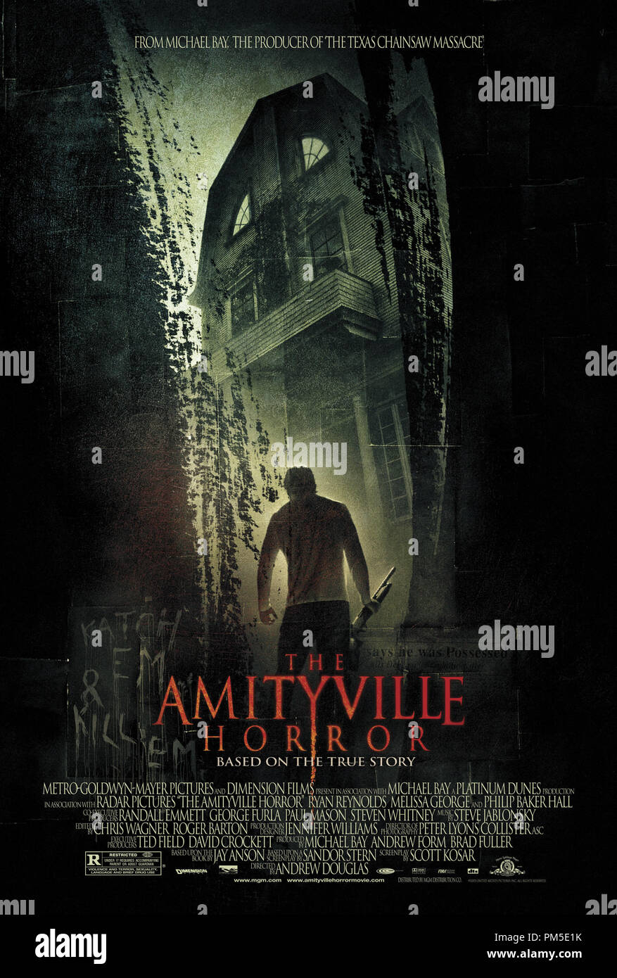 'The Amityville Horror' Poster © 2005 MGM  File Reference # 30736670THA  For Editorial Use Only -  All Rights Reserved - Stock Image