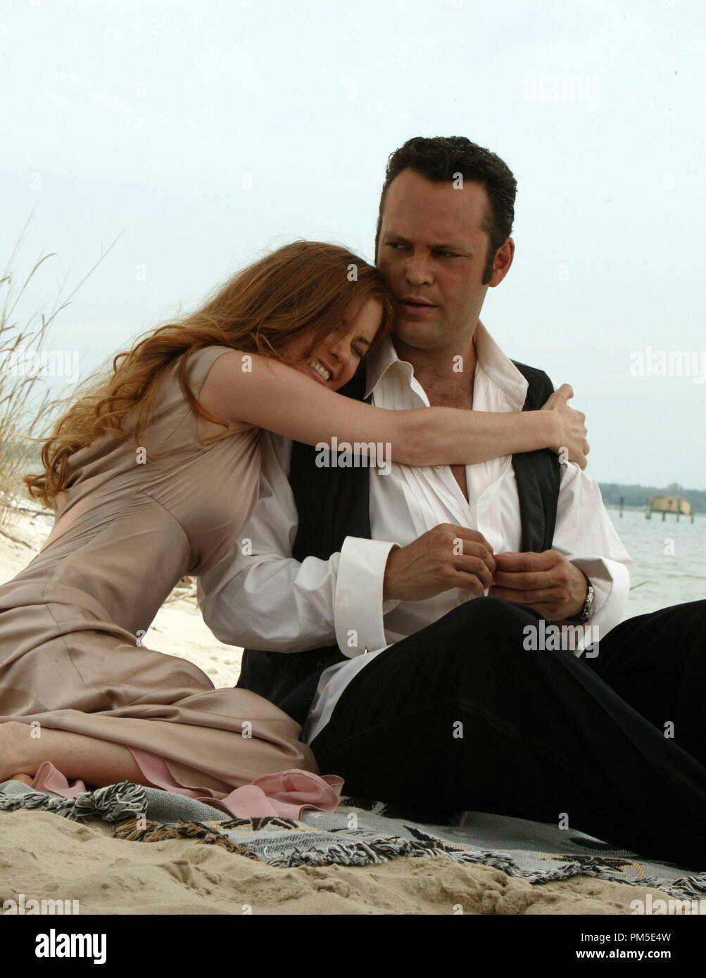 Film Still / Publicity Stills from 'Wedding Crashers'  Isla Fisher, Vince Vaughn  © 2005 New Line Cinema  Photo Credit: Richard Cartwright  File Reference # 30736740THA  For Editorial Use Only -  All Rights Reserved - Stock Image