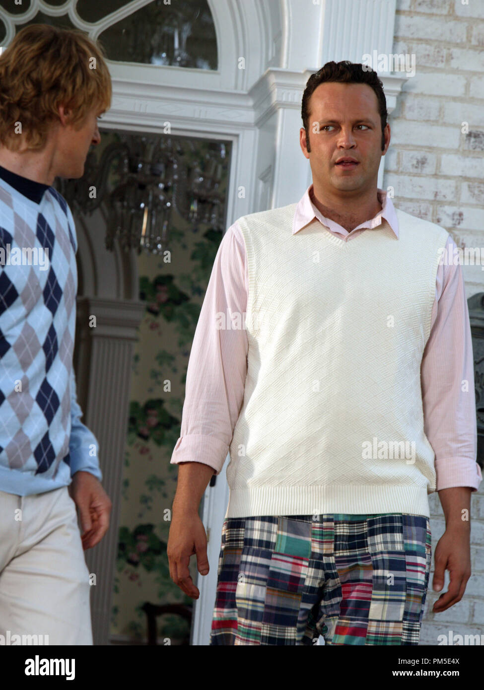 Film Still / Publicity Stills from 'Wedding Crashers'  Owen Wilson, Vince Vaughn  © 2005 New Line Cinema  Photo Credit: Richard Cartwright  File Reference # 30736741THA  For Editorial Use Only -  All Rights Reserved - Stock Image