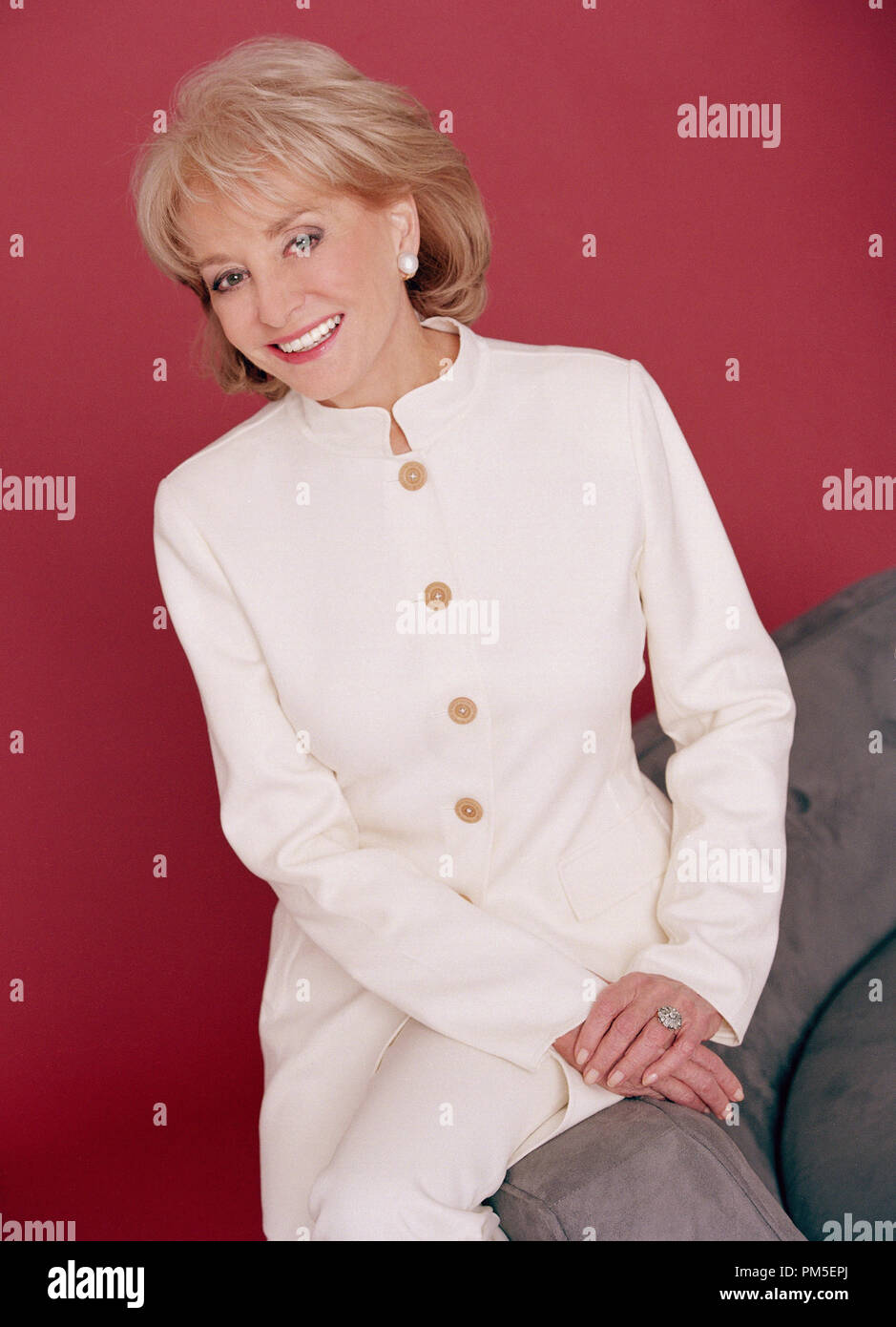 Film Still / Publicity Still from 'The View' Barbara Walters 2006 File Reference # 307371011THA  For Editorial Use Only -  All Rights Reserved - Stock Image