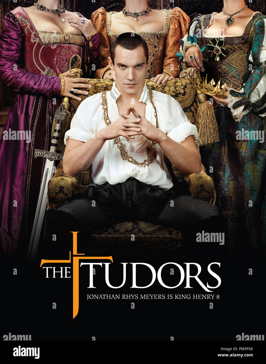 Studio Publicity Still from 'The Tudors' Artwork 2007   File Reference # 307381761THA  For Editorial Use Only -  All Rights Reserved - Stock Image