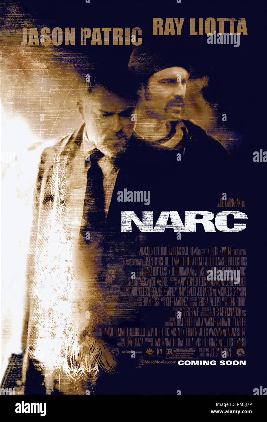 """Film Still / Publicity Still from """"Narc"""" Poster © 2002 Paramount Stock Photo"""
