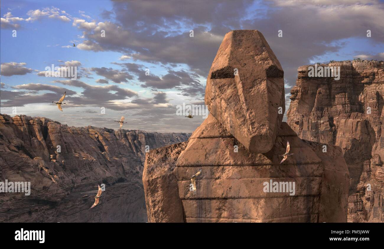 "Film Still / Publicity Still from ""Dinotopia""  © 2002 Hallmark Entertainment Stock Photo"