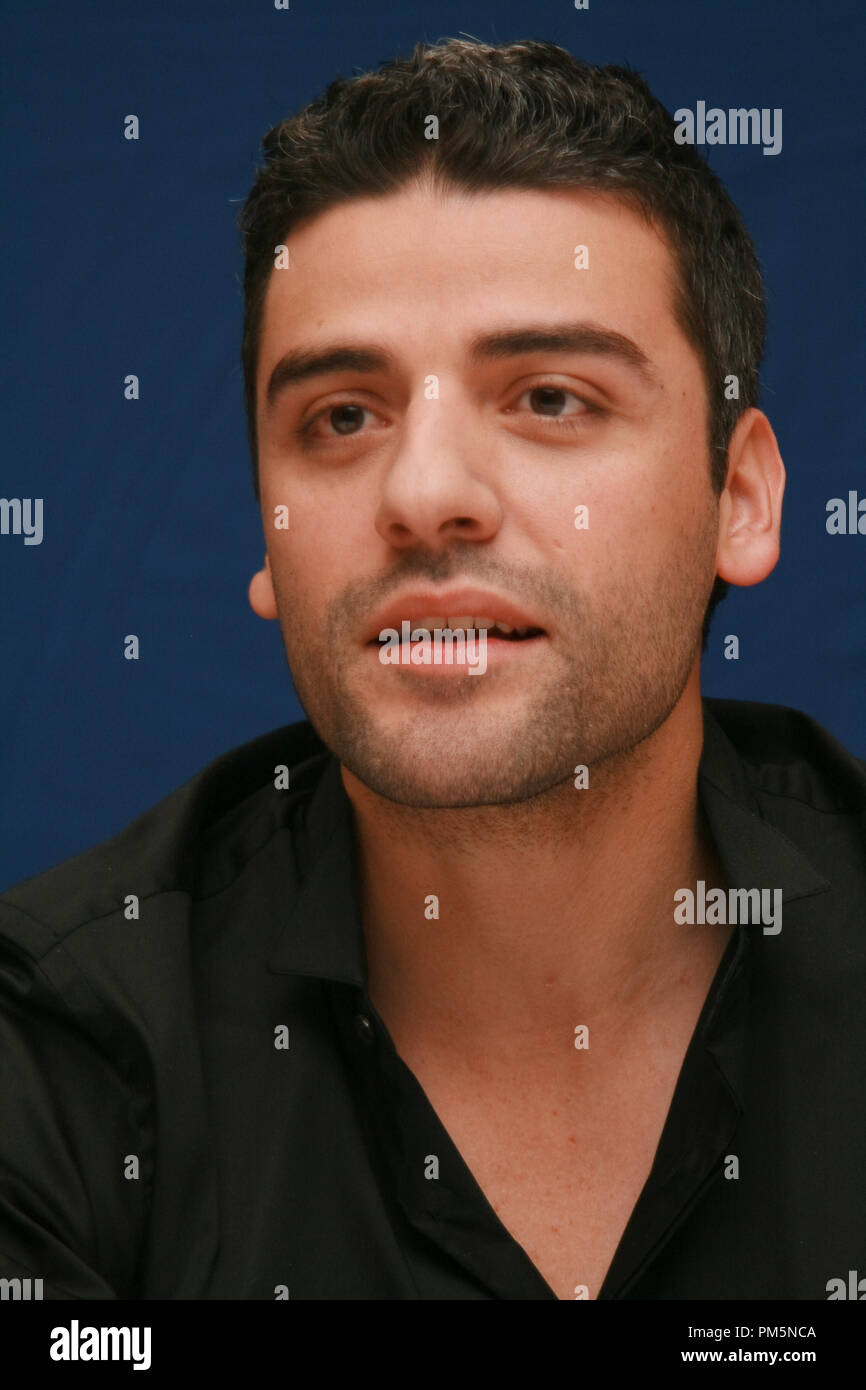 Oscar Isaac 'Sucker Punch'  Portrait Session, March 19, 2011.  Reproduction by American tabloids is absolutely forbidden. File Reference # 30908_015JRC  For Editorial Use Only -  All Rights Reserved - Stock Image