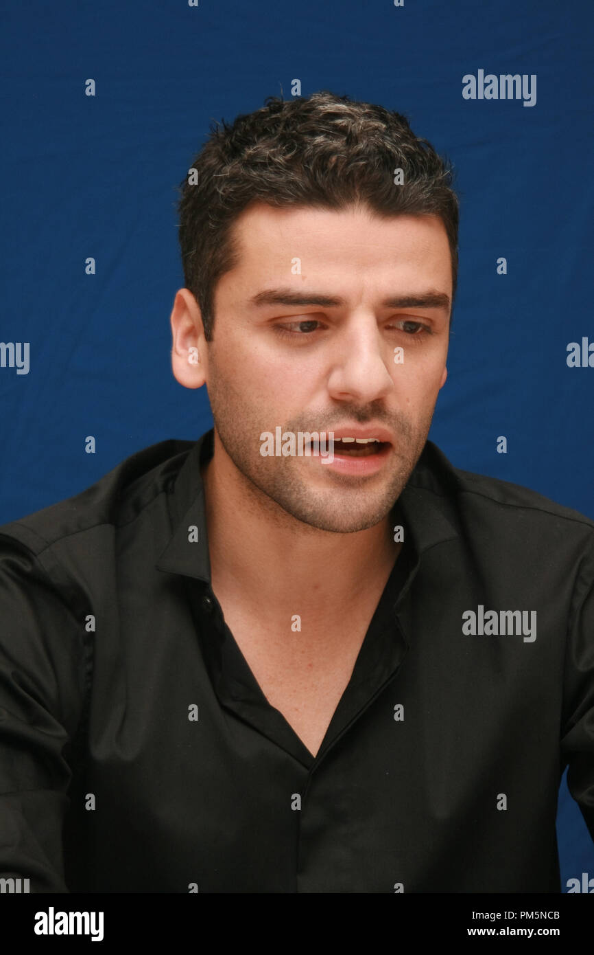 Oscar Isaac 'Sucker Punch'  Portrait Session, March 19, 2011.  Reproduction by American tabloids is absolutely forbidden. File Reference # 30908_016JRC  For Editorial Use Only -  All Rights Reserved - Stock Image