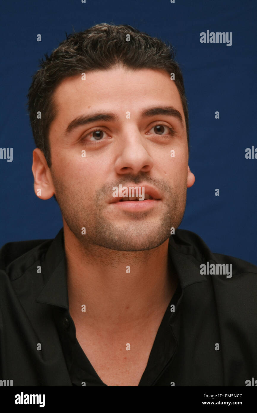 Oscar Isaac 'Sucker Punch'  Portrait Session, March 19, 2011.  Reproduction by American tabloids is absolutely forbidden. File Reference # 30908_017JRC  For Editorial Use Only -  All Rights Reserved - Stock Image