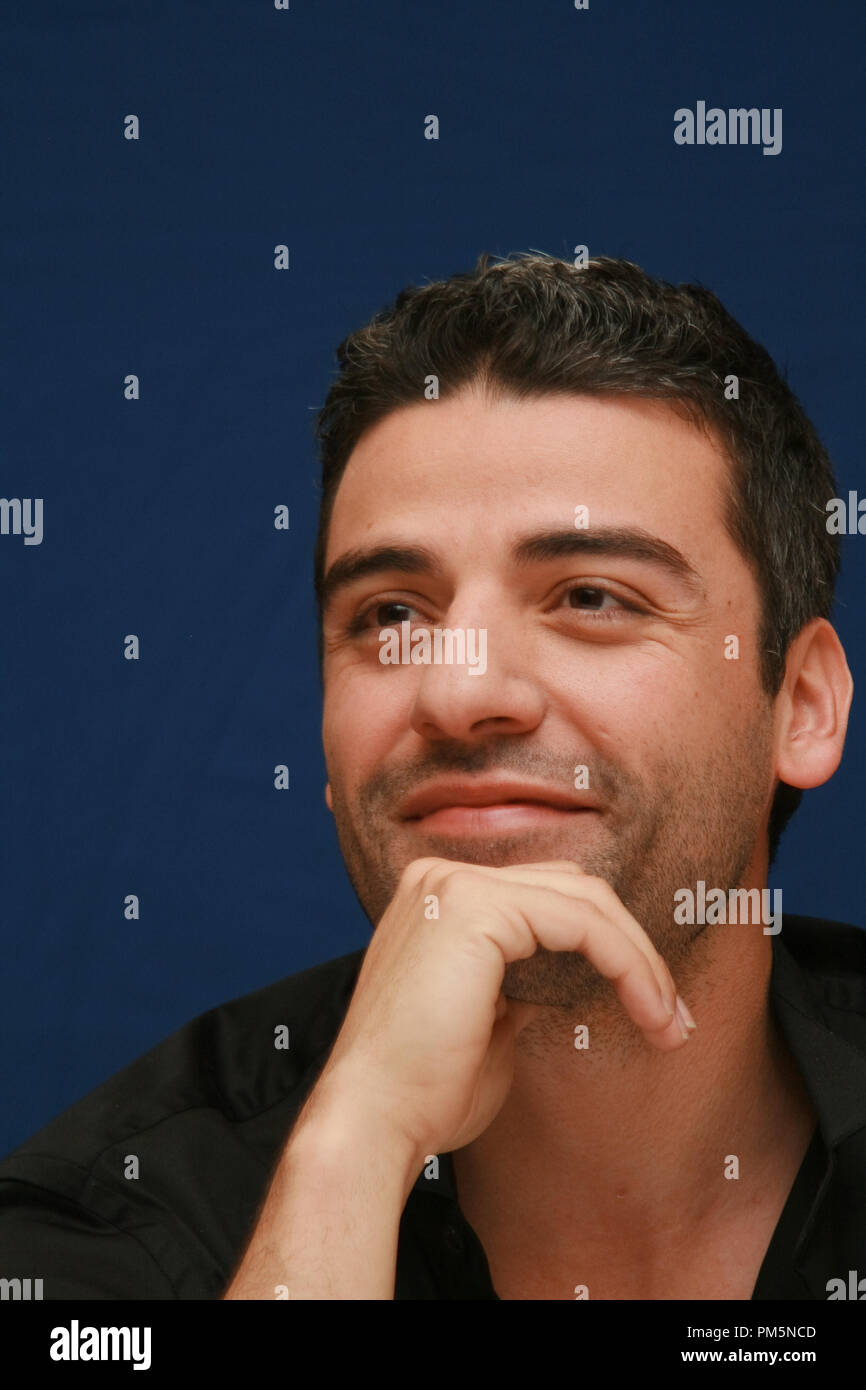 Oscar Isaac 'Sucker Punch'  Portrait Session, March 19, 2011.  Reproduction by American tabloids is absolutely forbidden. File Reference # 30908_018JRC  For Editorial Use Only -  All Rights Reserved - Stock Image