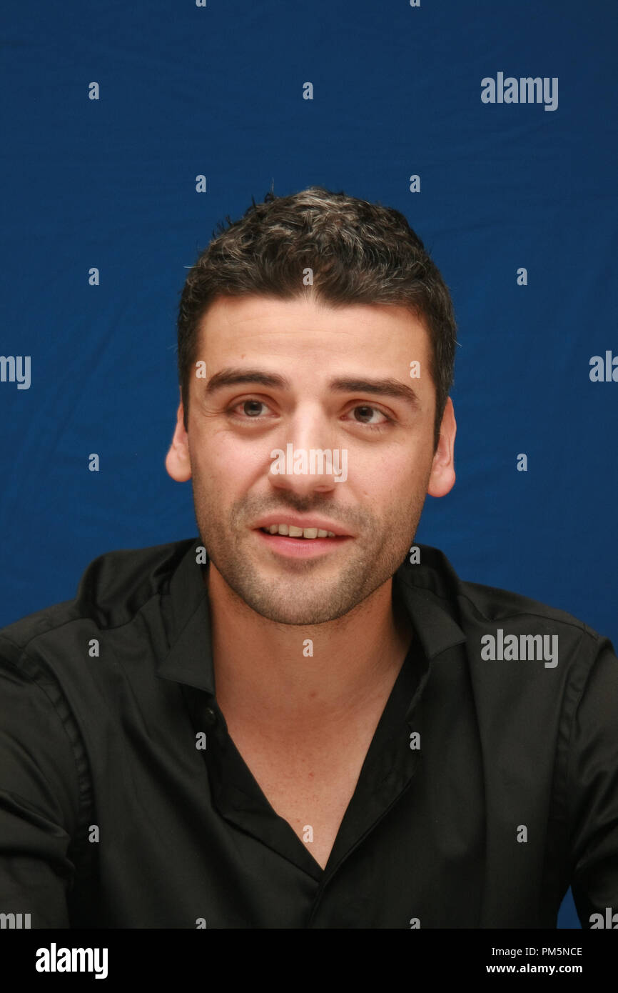 Oscar Isaac 'Sucker Punch'  Portrait Session, March 19, 2011.  Reproduction by American tabloids is absolutely forbidden. File Reference # 30908_019JRC  For Editorial Use Only -  All Rights Reserved - Stock Image