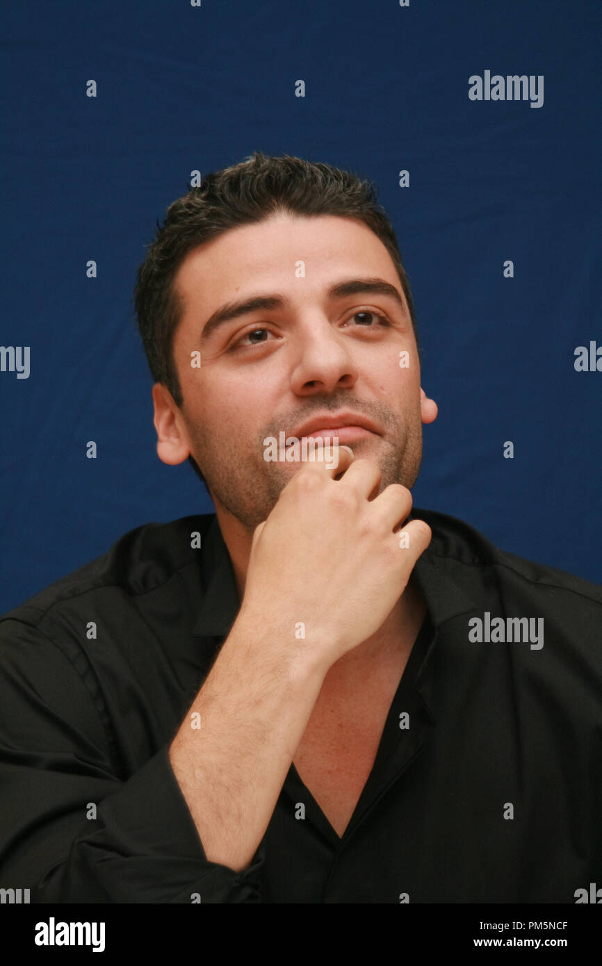 Oscar Isaac 'Sucker Punch'  Portrait Session, March 19, 2011.  Reproduction by American tabloids is absolutely forbidden. File Reference # 30908_020JRC  For Editorial Use Only -  All Rights Reserved - Stock Image