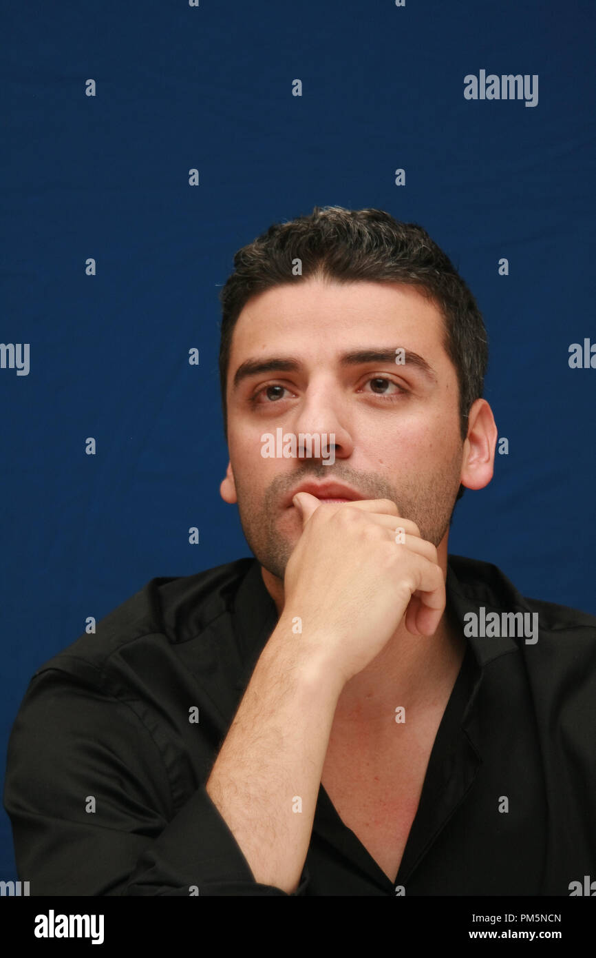 Oscar Isaac 'Sucker Punch'  Portrait Session, March 19, 2011.  Reproduction by American tabloids is absolutely forbidden. File Reference # 30908_024JRC  For Editorial Use Only -  All Rights Reserved - Stock Image