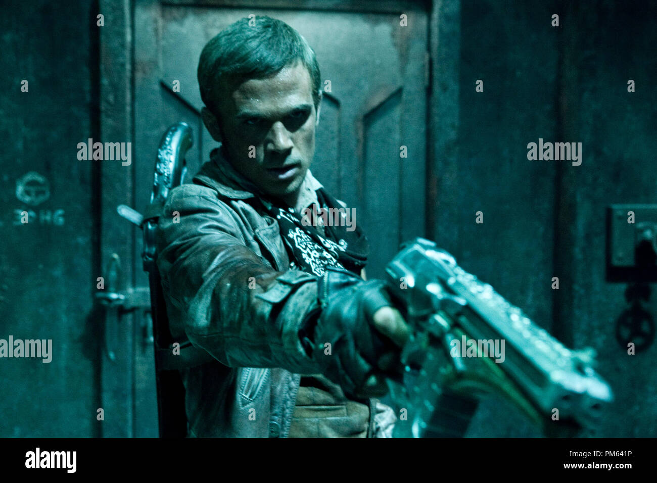 Cam Gigandet stars in Screen Gems' sci-fi action thriller PRIEST. - Stock Image