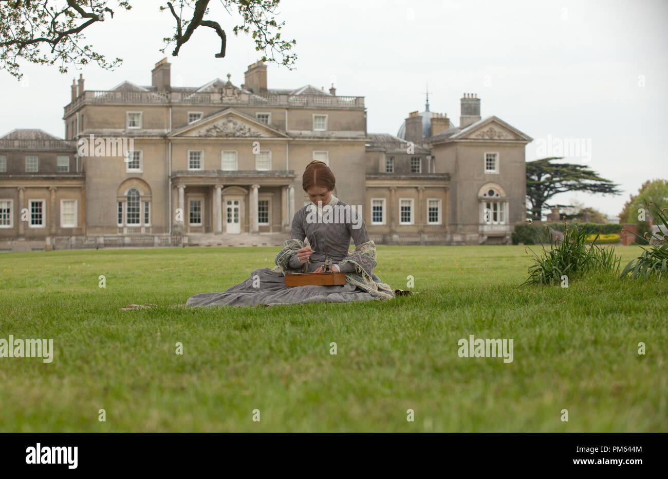 Mia Wasikowska stars as the title character of the romantic drama JANE EYRE, a Focus Features release - Stock Image