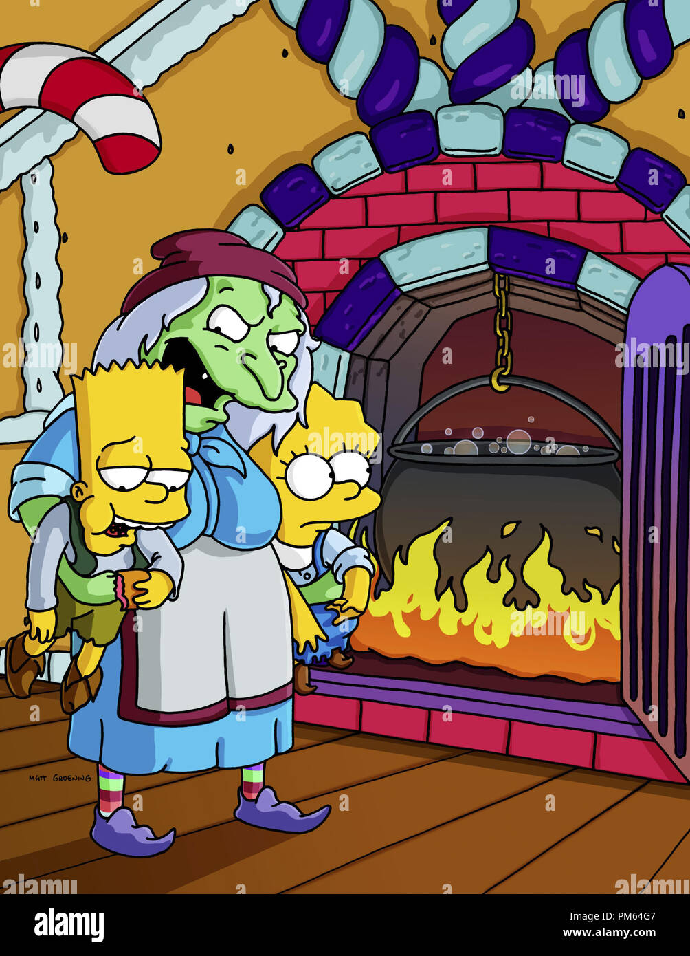 Film Still Publicity Stills From The Simpsons Episode Treehouse Of Horror Xi Bart Simpson Lisa Simpson November 1 2000 File Reference 30846099tha For Editorial Use Only All Rights Reserved Stock Photo Alamy