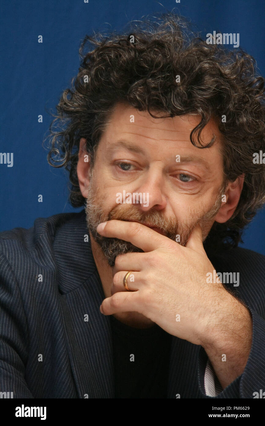 Andy Serkis 'The Adventures of Tintin - The Secret of The Unicorn' Portrait Session, July 11, 2011.  Reproduction by American tabloids is absolutely forbidden. File Reference # 31026_016JRC  For Editorial Use Only -  All Rights Reserved - Stock Image