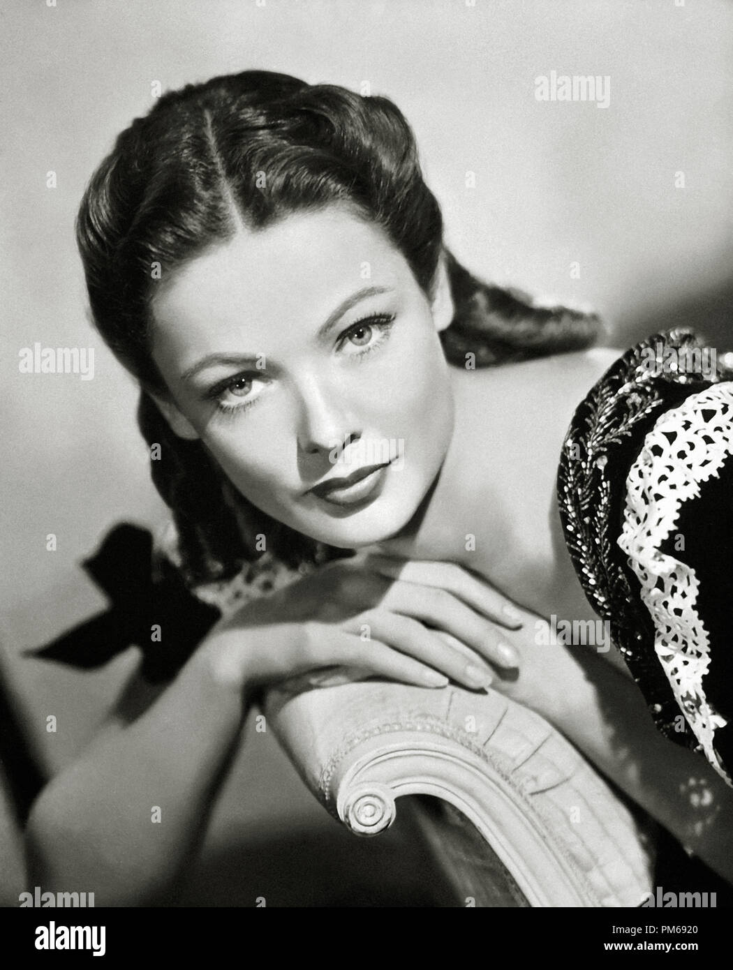 Gene Tierney, 'Dragonwyck' 1946 20th Century Fox File Reference # 31316_110THA - Stock Image