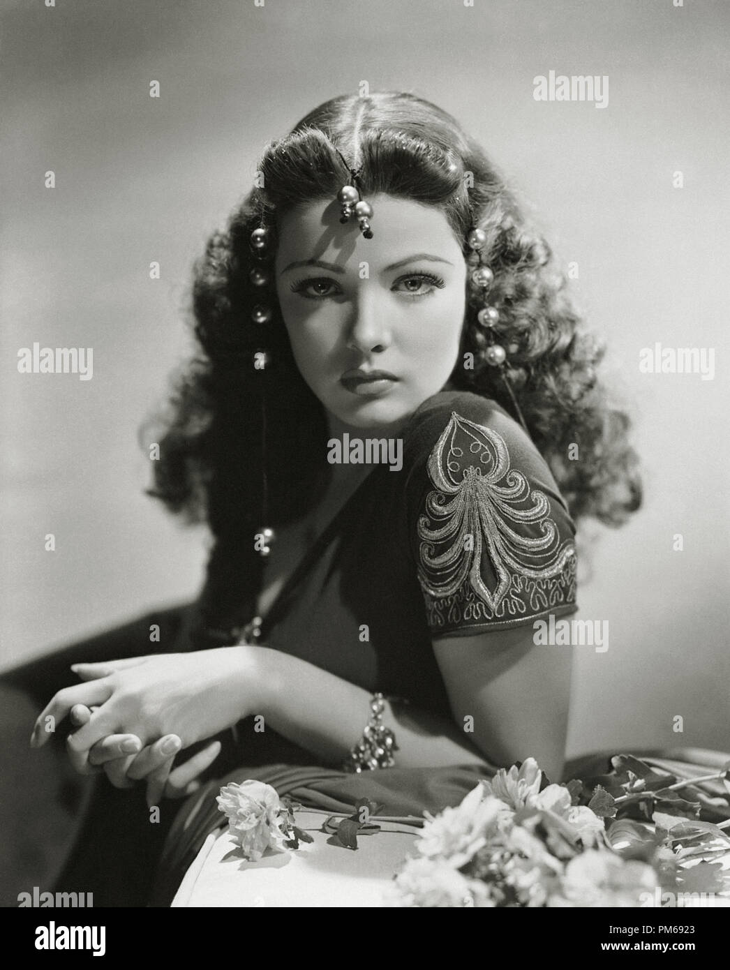 Gene Tierney, 'Sundown' 1941 File Reference # 31316_111THA - Stock Image
