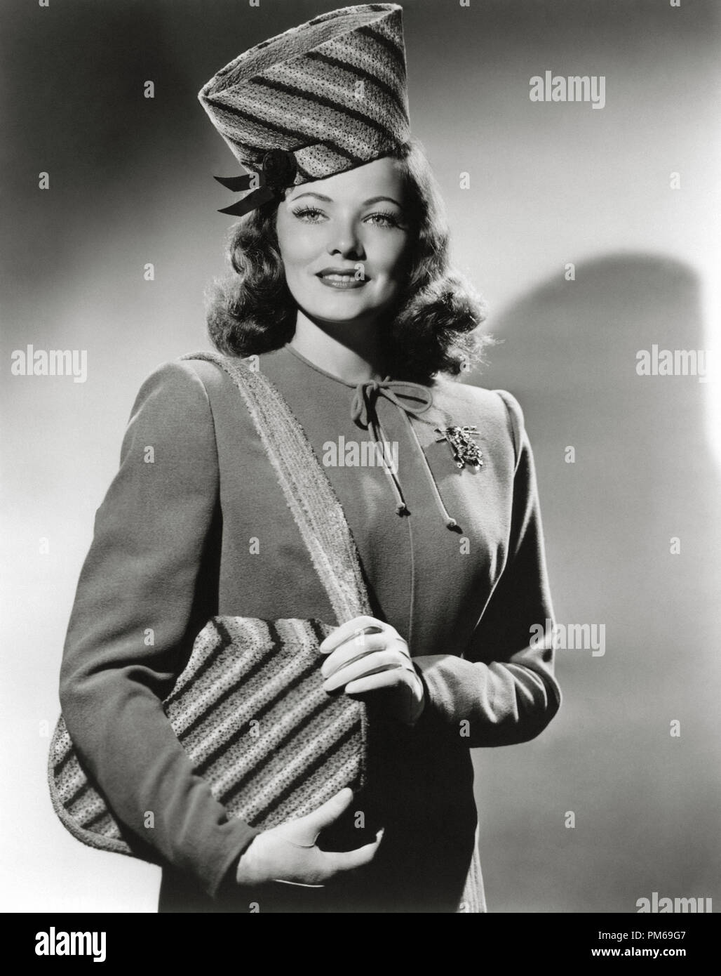 Gene Tierney, circa 1944. File Reference # 31316_305THA - Stock Image