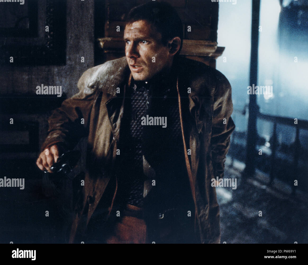 Harrison Ford, 'Blade Runner' 1982 - Stock Image