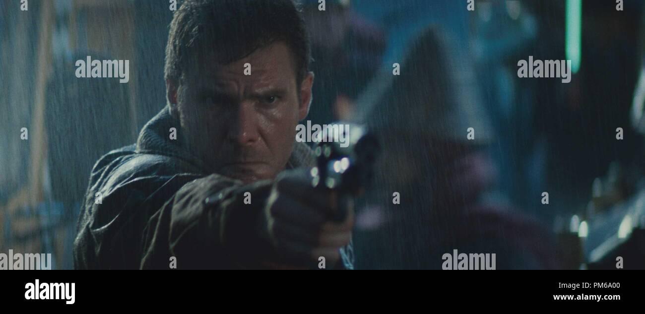 Harrison Ford, 'Blade Runner' 1982 Warner - Stock Image